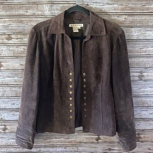 Vintage A.M.I. Suede Leather Jacket Size Small
